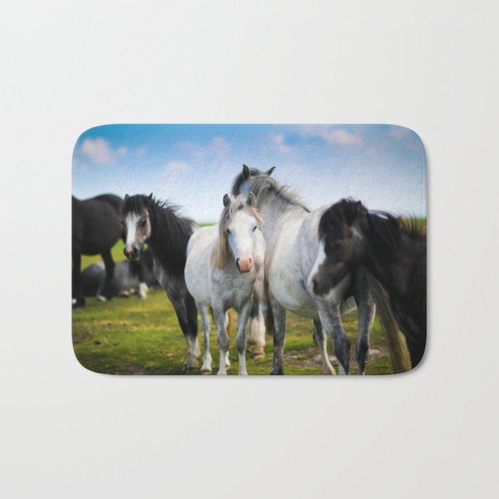 Horses Horses 4 Bath Mat