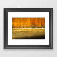 In another lonely universe Framed Art Print