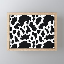 COW PATTERN Framed Mini Art Print