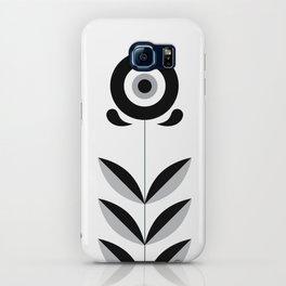 Retro Nordic Black & White iPhone Case