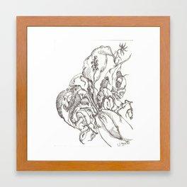 Botanical Abstract #6 Framed Art Print
