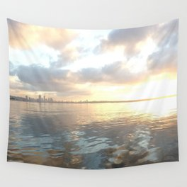 river clouds Wall Tapestry