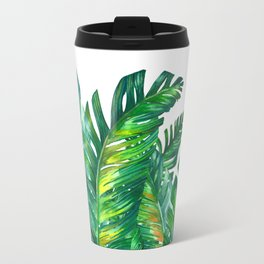 tropical green 2 Travel Mug