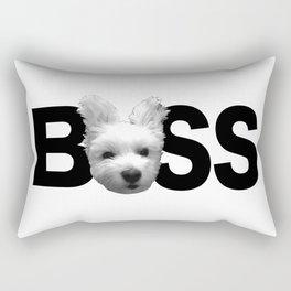 Maltese Boss Rectangular Pillow