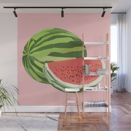 Geo Watermelon Wall Mural