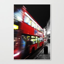 double decker Canvas Print