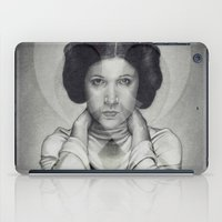 princess leia iPad Cases featuring Star Wars Princess Leia by Alexandra Bastien
