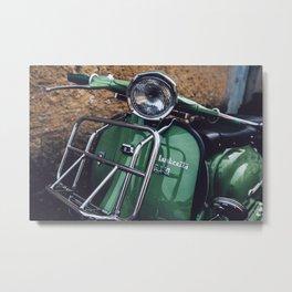 Lambretta Metal Print