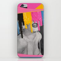 celebrity iPhone & iPod Skins featuring Celebrity Syrup by Eugenia Loli
