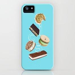 Android Eats: ice cream sandwich peg iPhone Case