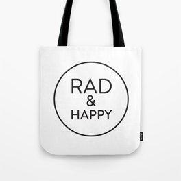 Rad & Happy Tote Bag