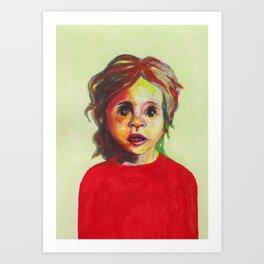 Les petites filles I.14 Art Print