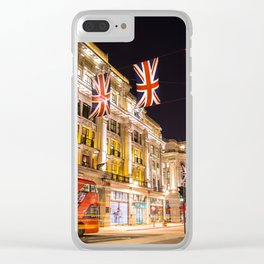 Regent Street London Clear iPhone Case