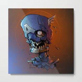 Cap A Metal Print