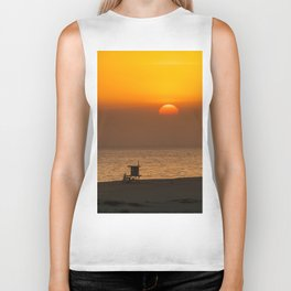 Classic SoCal Sunset Biker Tank