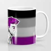 asexual Mugs featuring Asexual Cas by Dreki