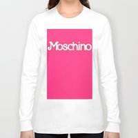 moschino Long Sleeve T-shirts featuring Moschino Barbie by RickyRicardo787