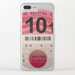 Very Taxing Clear iPhone Case