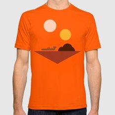 Tatooine Orange 2X-LARGE Mens Fitted Tee