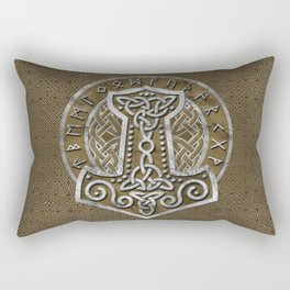 Mjolnir  - the hammer of Thor Rectangular Pillow