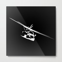H-53/CH-53 Military Helicopter Metal Print