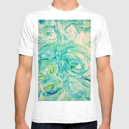 marbling twirl T-shirt