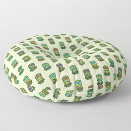 Chibi Ninja Turtles Floor Pillow