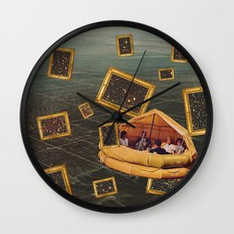 Dans Voyage  Wall Clock