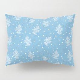 I don't know let it snow Xmas pattern Pillow Sham