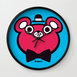 Bearbert Wall Clock