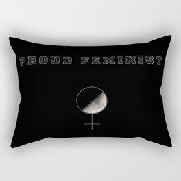Proud Feminist Rectangular Pillow