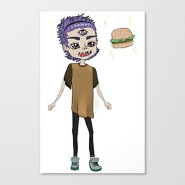 BRGR-BOY Canvas Print