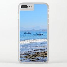 Matapalo Beach Clear iPhone Case