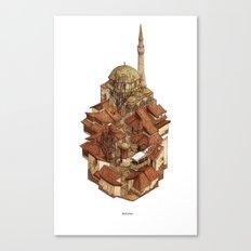 Bascarsija Canvas Print