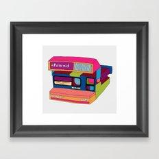 Captures Great Moments (color fun) Framed Art Print