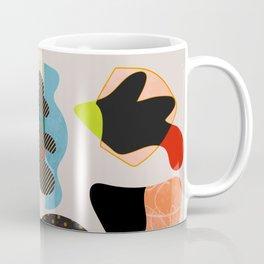 minimal shapes summer Coffee Mug