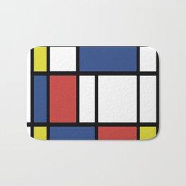 Mondrian 3 #art #mondrian Bath Mat