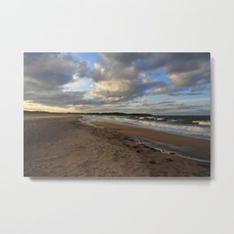 Dark Skies And Sea Metal Print