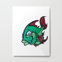 small green fish Metal Print