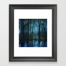 Woodland Twilight Framed Art Print