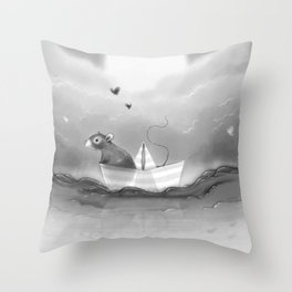 Where you are Throw Pillow