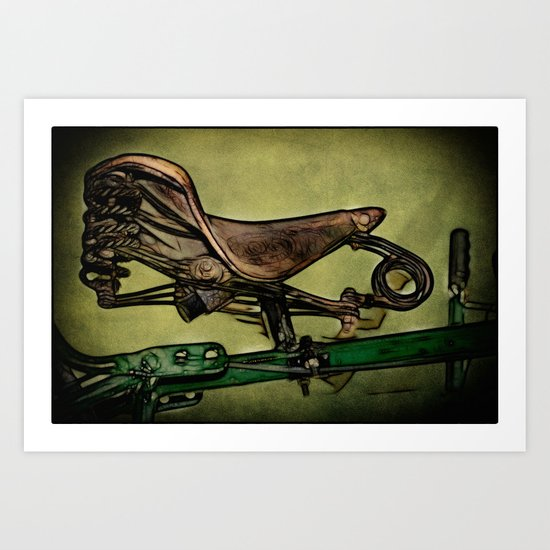 Back in the Saddle Art Print