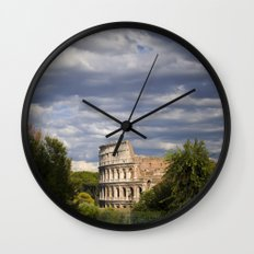 The Roman Colosseum  Wall Clock