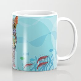 Sea Cat with friends Coffee Mug