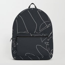 Monstera No2 Black Edition Backpack