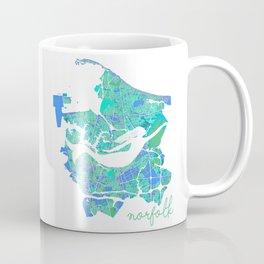 Mermaid in a Sea of Trees Coffee Mug