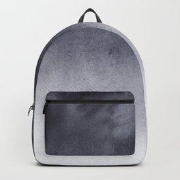 Grey Watercolor Tie-dye Backpack