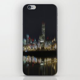 Glow of the City iPhone Skin
