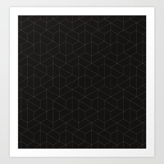 Hexagonal  Art Print