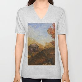 Autumn Forest Unisex V-Neck